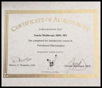 Degrees & Certifications Dr. Moldovan 8