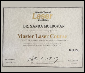 Degrees & Certifications Dr. Moldovan 4