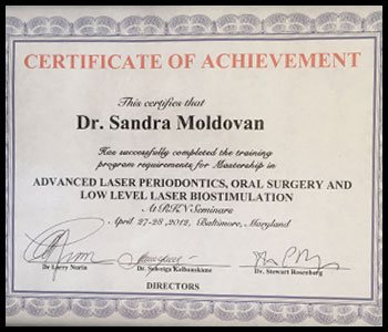 Degrees & Certifications Dr. Moldovan 5