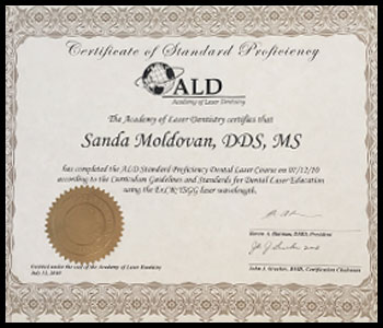 Degrees & Certifications Dr. Moldovan 7