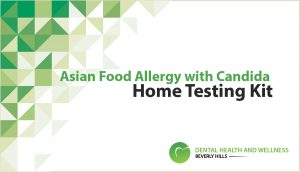 Asian Food Allergy with Candida - Home Testing Kit